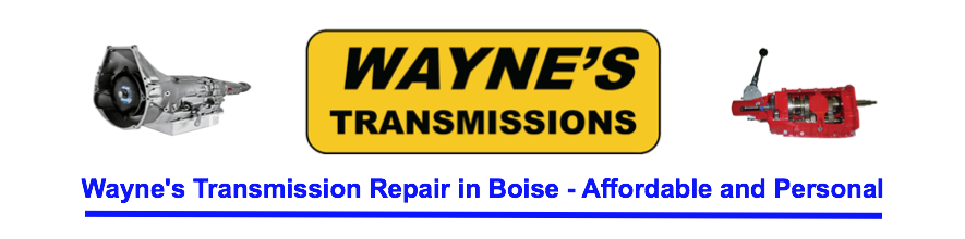 Wayne's Transmission Repair Boise header
