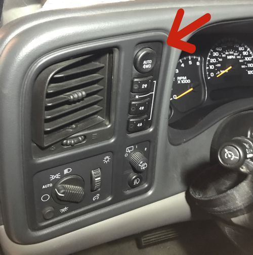 Transfer Case Switches