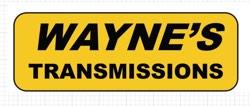 Wayne's Transmissions sign