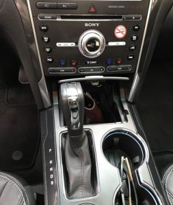 automatic transmission shift lever