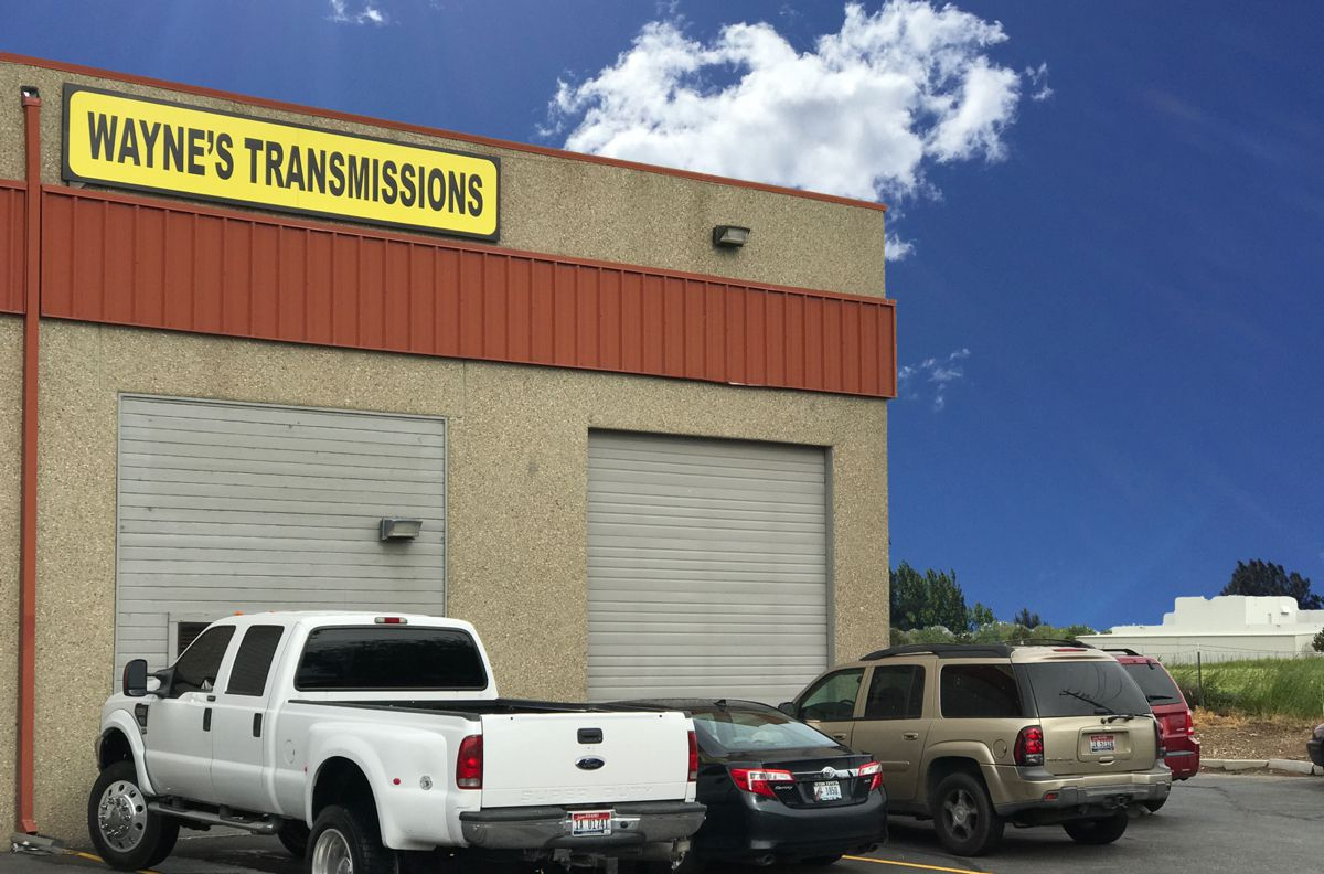 Wayne's Boise transmission shop